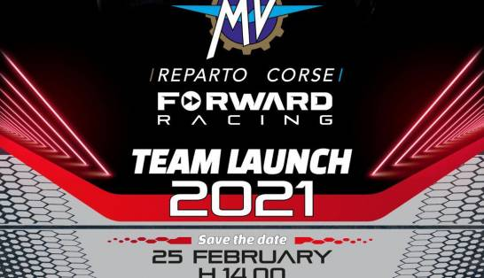 Presentazione del Team MV Agusta Forward Racing